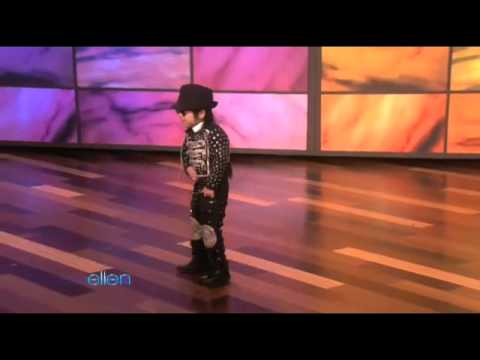 An Unbelievable 4-Year-Old Dancer Performs for Ellen