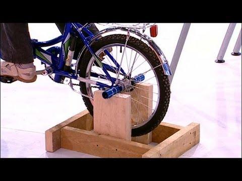 Как своими руками сделать велотренажер